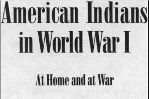 American Indians in World War I