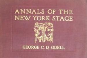 O'Dell's Annals of the New York Stage